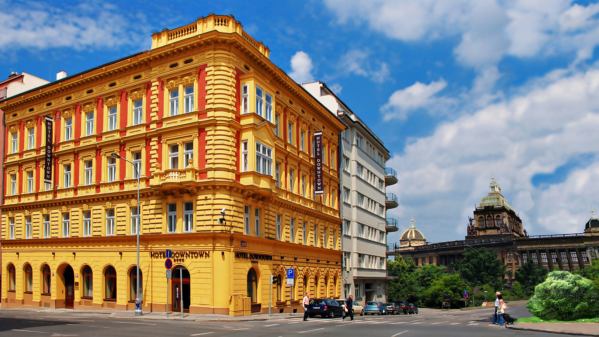 Ea hotel downtown praha ofici ln str nky for M hotel prague