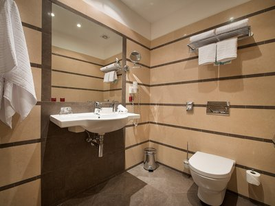 EA Hotel Downtown**** - double room - bathroom